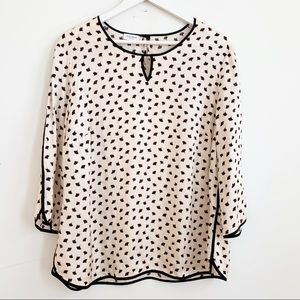 Tops - Gerry Weber Collection Minimaliste Print Blouse XL